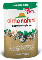 ALMO NATURE GREEN LABEL RAW PACK КУРИНАЯ ГРУДКА Упаковка 24 шт.