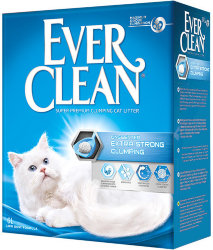 EVER CLEAN EXTRA STRONG CLUMPING UNSCENTED НАПОЛНИТЕЛЬ 6 л.
