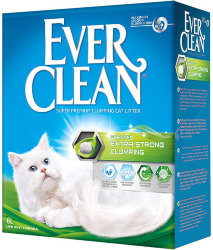 EVER CLEAN EXTRA STRONG CLUMPING SCENTED НАПОЛНИТЕЛЬ 6 л.