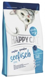 HAPPY CAT SENSITIVE GRAINFREE МОРСКАЯ РЫБА
