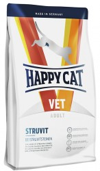 HAPPY CAT VET DIET STRUVIT ДИЕТА ПРИ СТУВИТАХ И УРОЛИТОВ