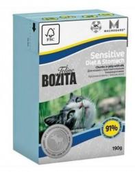 BOZITA TETRA PAK FUNKTION SENSITIVE DIET & STOMAH 190 гр.