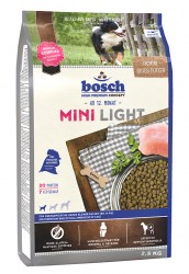 BOSCH MINI LIGHT СУХОЙ КОРМ ДЛЯ СОБАК МЕЛКИХ ПОРОД 1 кг., 2,5 кг.