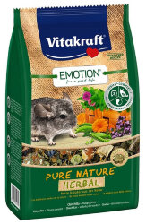 VITAKRAFT PURE NATURE HERBAL КОРМ ДЛЯ ШИНШИЛЛ 600 гр.