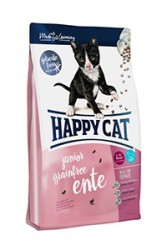 HAPPY CAT JUNIOR GRAINFREE УТКА
